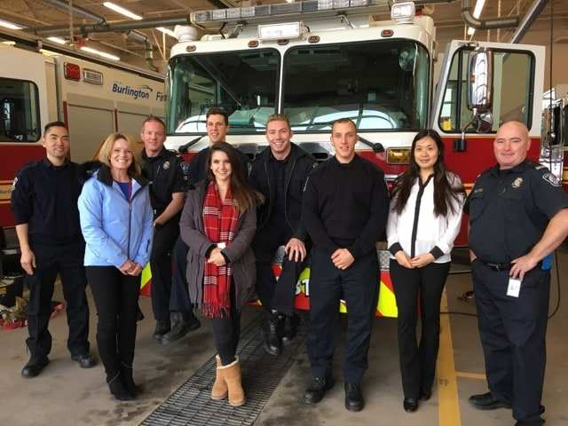 Unique Chrysler Charitable Support burlington fire department