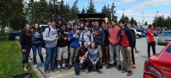 Unique Chrysler Charitable Support nelson high school auto show
